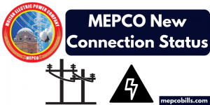 mepco new connection status