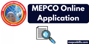 mepco online application